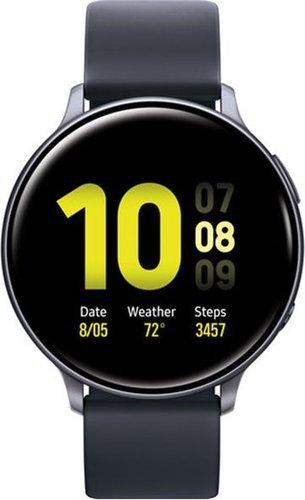 Умные часы Samsung R830 Galaxy Watch 2 Aluminium 40mm, черные фото