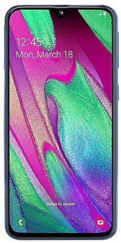 Смартфон Samsung (A405F) Galaxy A40 Синий фото