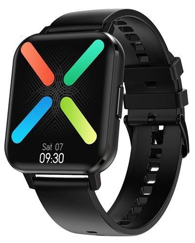 """Умные часы DT No.1 DTX 1.78"""", силиконовый ремешок, черный фото"""