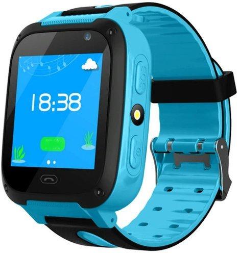 Умные детские часы Bakeey S4, синий фото