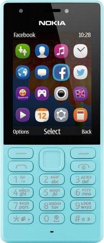 Мобильный телефон Nokia 216 Dual Sim Голубой фото