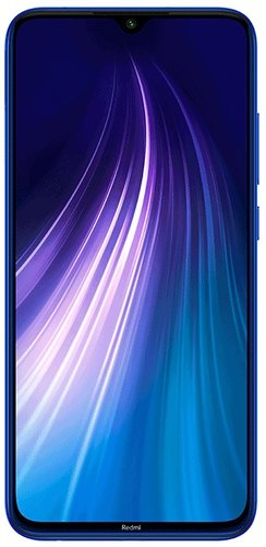 Смартфон Xiaomi Redmi Note 8T 4/128GB Синий Global Version фото