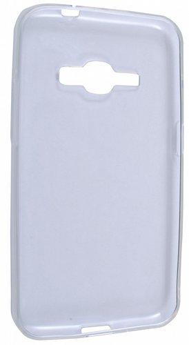 Чехол для смартфона Samsung Galaxy J1 (2016) Silicone iBox Crystal (прозрачный), Redline фото