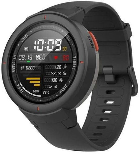 Умные часы Xiaomi Amazfit Verge, серые фото