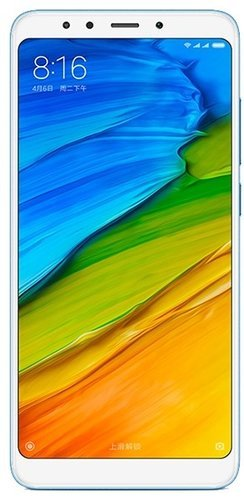 Смартфон Xiaomi RedMi 5 Plus 4/64Gb Blue (Голубой) фото