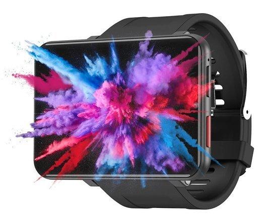 Умные часы Lemfo Lem T 3/32Gb, 4G-LTE, черный фото