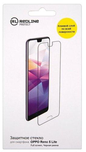 Защитное стекло для Oppo Reno 5 Lite Full Screen Full Glue черный , Redline фото