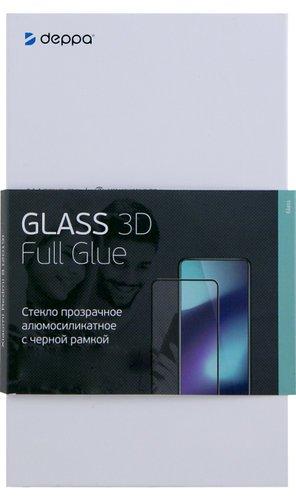 Защитное стекло для Google Pixel 4a 4G (3D) Full Screen Full Glue черный, Deppa фото