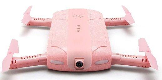Складной селфи-дрон Jjrc H37 ELFIE, розовый фото