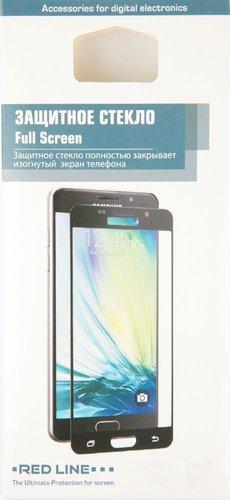 Защитное стекло для Samsung J8 (2018) Full Screen черный , Redline фото
