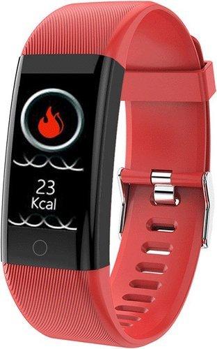 Фитнес браслет Bakeey 115 Pro, красный фото