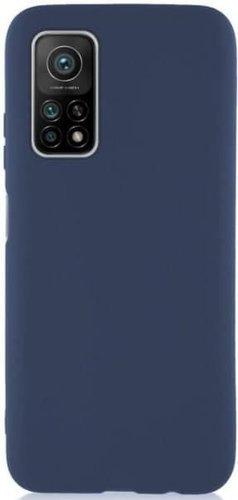 Чехол-накладка для Xiaomi Mi10T/ Mi10T Pro синий, Microfiber Case, Borasco фото
