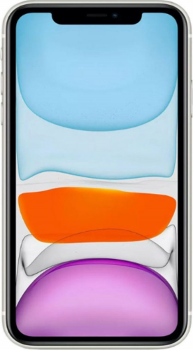 Смартфон Apple iPhone 11 64GB Белый (MWLU2RU/A) фото