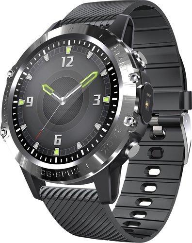 Умные часы Bakeey P8, силиконовый ремешок, черный фото