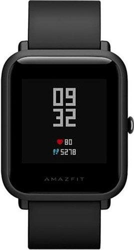 Умные часы Xiaomi Amazfit Bip, черные фото