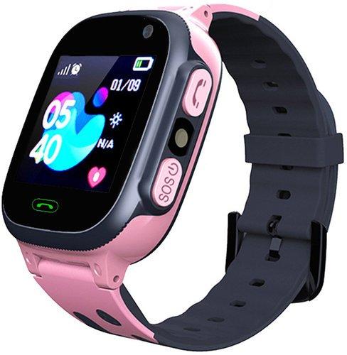 Детские умные часы Bakeey S1, розовый фото
