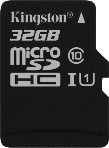 Карта памяти Kingston microSDHC 32GB Class 10 UHS-I U1 Canvas Select до 80MB/s без адаптера фото