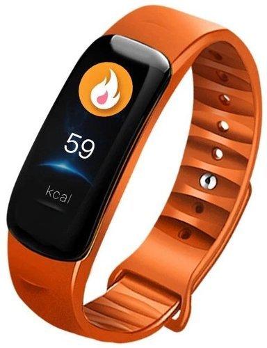 Фитнес браслет Xanes C1S, оранжевый фото