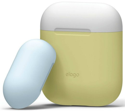 Чехол Elago Silicone Duo Case (EAPDO), желтый фото