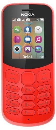 Мобильный телефон Nokia 130 Dual Sim (2017) Красный фото