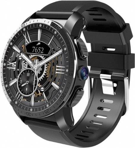 Умные часы KingWear KC09 чёрные фото