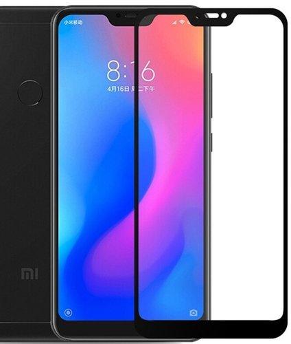 Защитное стекло для Xiaomi Mi A2 Lite Full Screen Glass черный, Redline фото