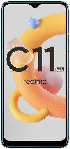 Смартфон Realme C11 2021 2/32GB Голубой фото