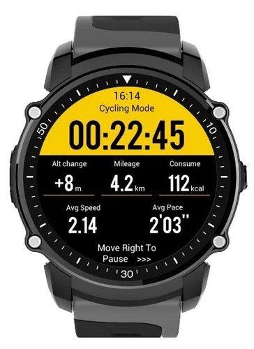 Умные часы KingWear FS08, черные фото
