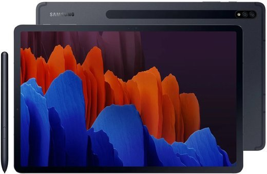 "Планшет Samsung Galaxy Tab S7+ 12.4"" (SM-T975) 128Gb (2020) Черный фото"