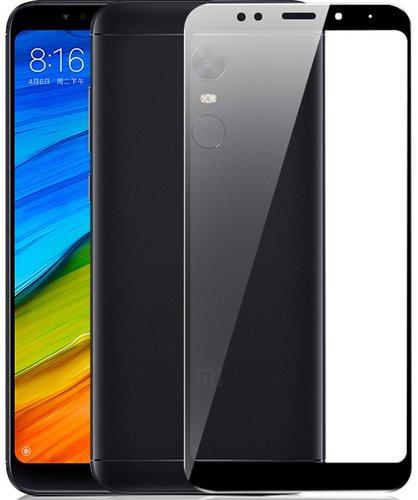 Защитное стекло для Xiaomi Redmi 5 Full Screen Glass черный, Redline фото