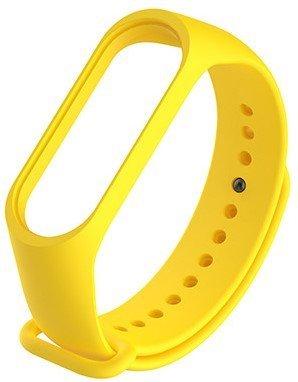 Ремешок для браслета Mi Band 3, желтый фото