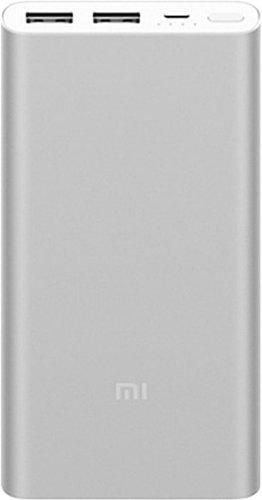 Внешний аккумулятор Xiaomi Mi Power Bank 2i 10000 mah 2 USB серебристый фото