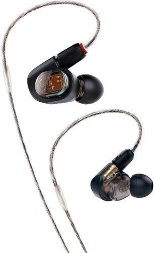 Наушники Audio-Technica ATH-E70, черный фото