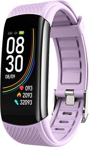Фитнес браслет Bakeey C6T, фиолетовый фото