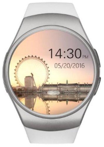 Умные часы KingWear KW18, белые фото