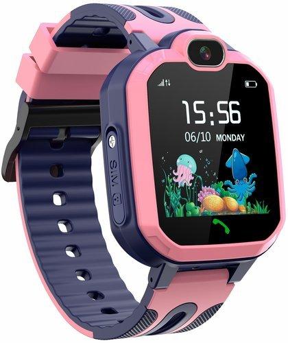 Детские умные часы Bakeey Y52, розовый фото