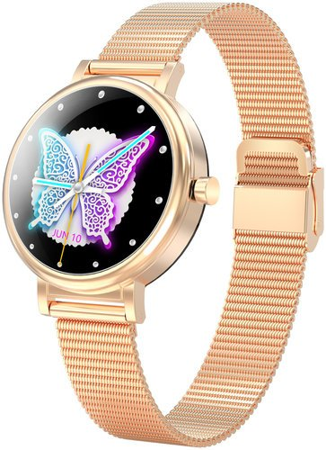 Умные часы Bakeey LW06, золотой фото