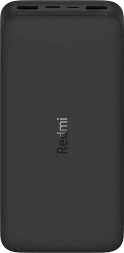 Внешний аккумулятор Xiaomi Redmi Power Bank 20000 mah 2USB/USB Type-C черный фото