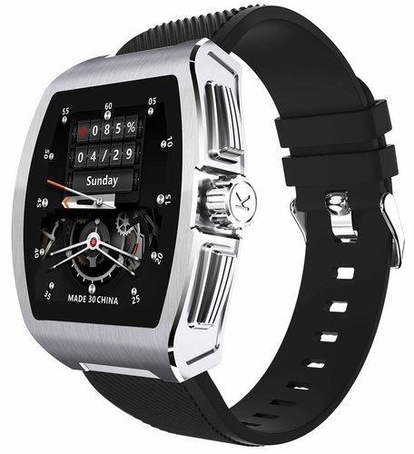 Умные часы Servo C1, черный/белый фото