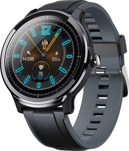 Умные часы Kospet IP68 с дополнительным красным ремешком фото