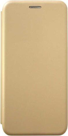 Чехол-книжка для Xiaomi Mi Note 10 Lite золотой, Shell Case, Borasco фото