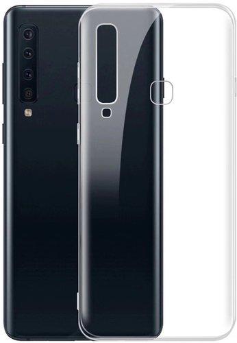 Чехол для смартфона Samsung Galaxy A9 (2018) Silicone iBox Crystal (прозрачный), Redline фото