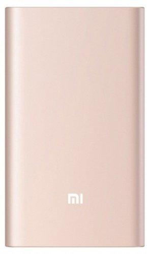 Внешний аккумулятор Xiaomi Mi Power Bank Pro 10000 mah Quick Charge розовое золото фото