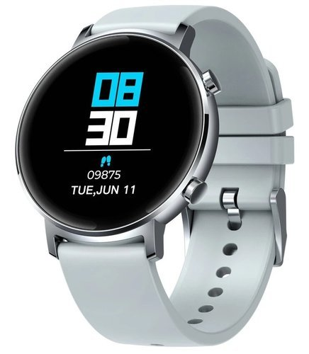 """Умные часы Zeblaze GTR 1.3"""" с сенсорным экраном, серебристый фото"""
