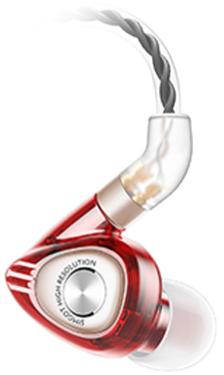 Наушники Simgot EM3, красный фото