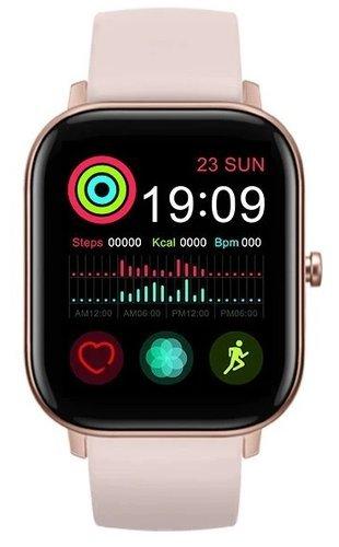 Умные часы Bakeey GTS, розовый фото