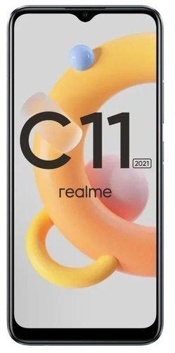 Смартфон Realme C11 2021 2/32GB Серый фото
