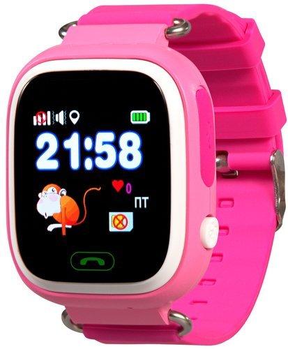 Детские умные часы Prolike PLSW90PK, розовые фото
