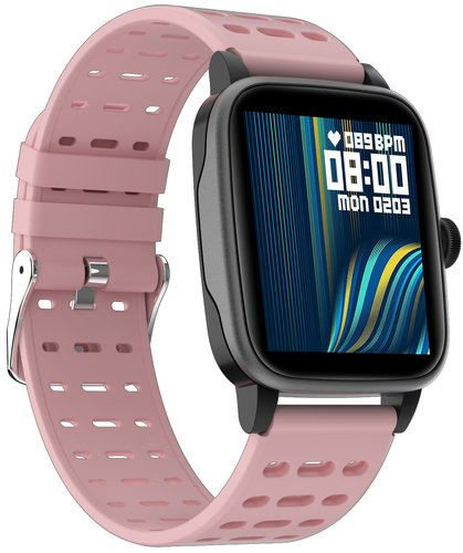 Умные часы Bakeey P30, розовый фото