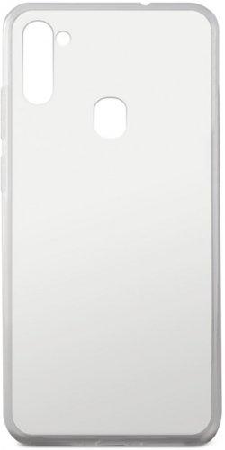 Чехол для смартфона Samsung Galaxy M11 Silicone iBox Crystal (прозрачный), Redline фото